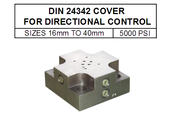 DIN24342 - 16mm - 40mm - 5000 PSI
